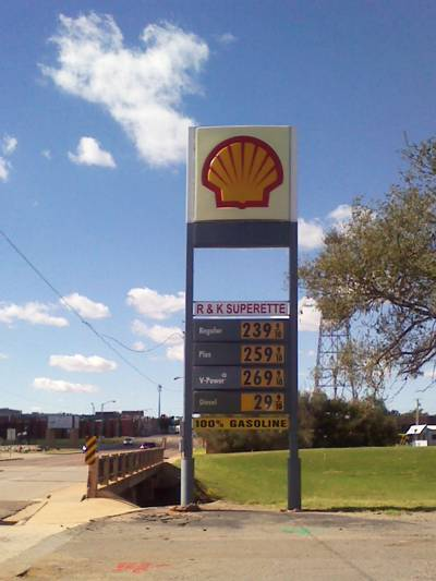 R&K Superette in Elk City, OK Pumps 100% Real Gas and Cheap Diesel