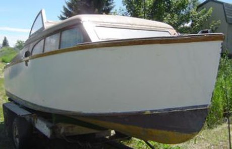 1953 21' Chris Craft