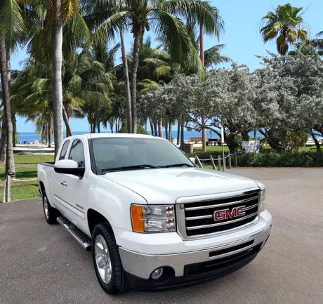2013 White Truck