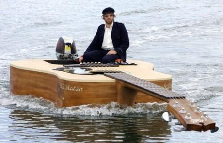 Boat Guitar