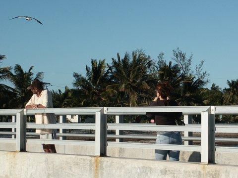 Photographer on a Bridge