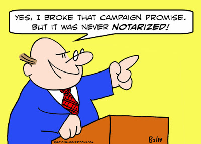 Notarized Campaign Promise