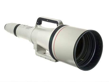 Canon's unique EF-mount 1200mm f5.6 lens