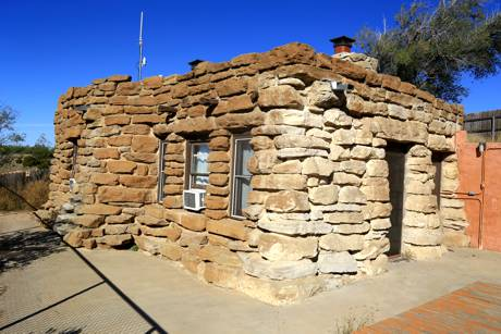 Civilian Conservation Corps Cabin at Palo Duro
