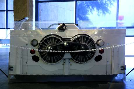 Business End of the Chaparral 2J, the Famed 'Goer-Blower'