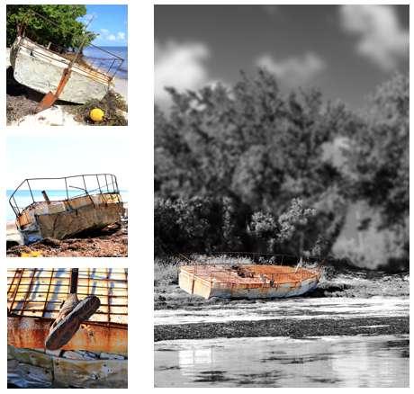Cuban Chug Collage