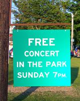 Summer Sounds Concert Sign