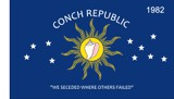 Flag of the Conch Republic -- Motto: We Seceded Where Others Failed