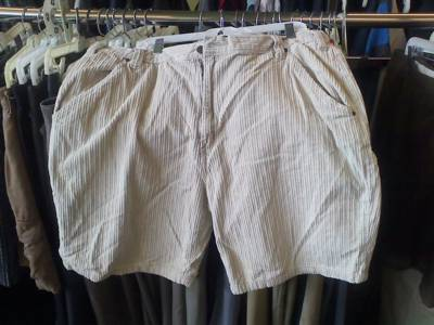 Corduroy shorts: The perfect attire for the cold dog days of summer