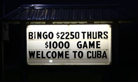 Bingo and Funerals in Cuba