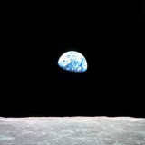 (from the Moon) Earth -- the Flower of Science