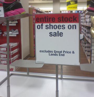 Sears Sale