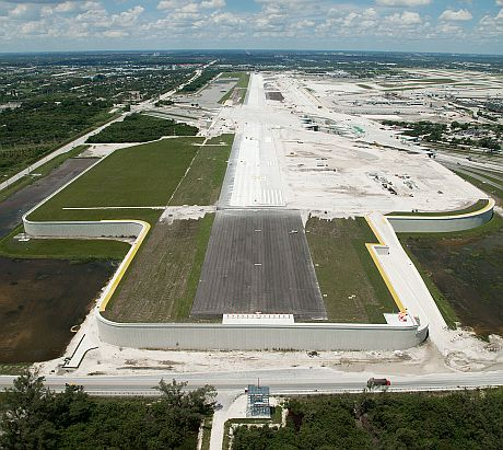 Approach to New FLL Runway