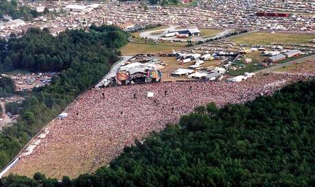 Grateful Dead in Highgate, VT, June 15, 1995 ... Photo by Leonard Parent