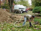 Pumping out a Septic System