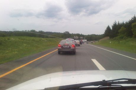 Brake Lights as Far as You Can See