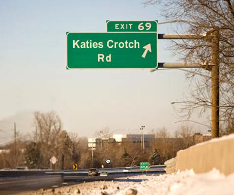 Katies Crotch Rd - Exit 69