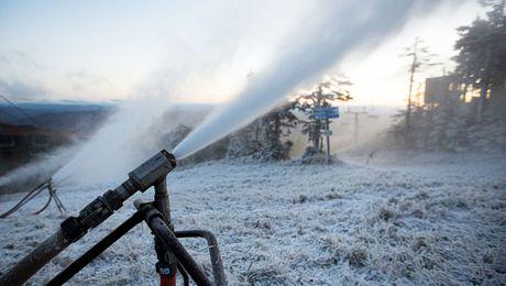 Blowing Snow Tuesday October 11 at Killington