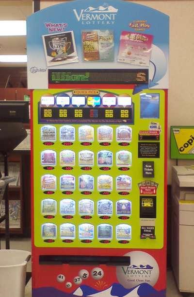Vermont Lottery Retail POS Machine