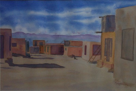 Painting by Mary D. Harper - New Mexico