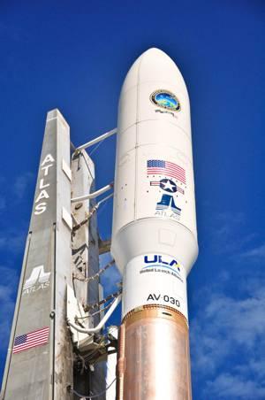 MUOS aboard Atlas-V