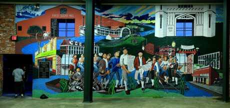 Clara Roy Pavilion Mural