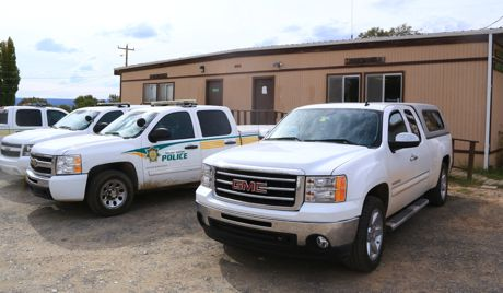 Good Looking Truck at the Navajo Nation Police Department