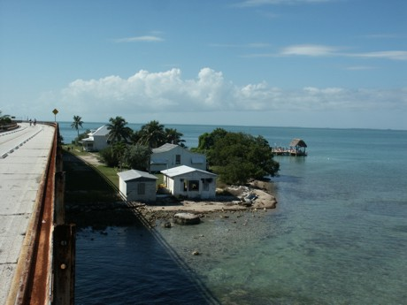 Pigeon Key from the old 7 Mile Bridge