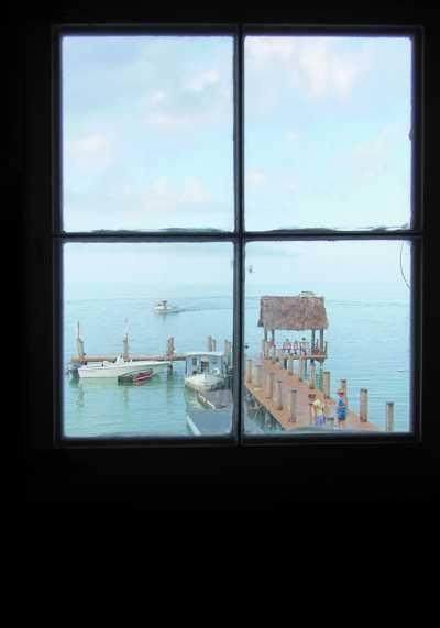 Overlooking Pigeon Key Harbor