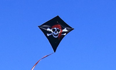 Pirate Kite at Aviation Heritage Park