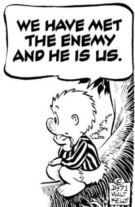 Pogo: We Have Met the Enemy