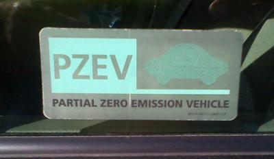 PARTIAL Zero Emission Vehicle? PARTIAL?