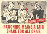 Rationing Means a 'Fair Share' for All of Us