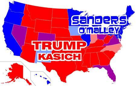 Red States-Blue States