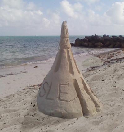Sand Spire Sculpture