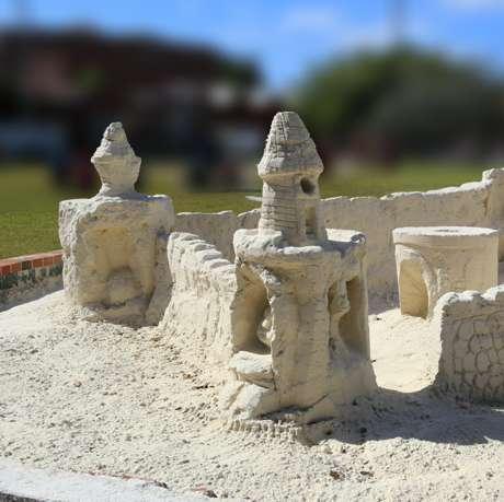 Fort East Martello Sand Castle
