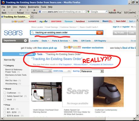 Sears Search