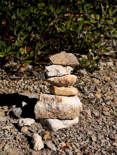 The Small Stacked Rocks of Chiricahua