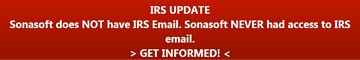 Sonasoft IRS Update
