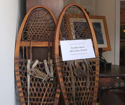 Southernmost Snowshoe Rental -- Enough Said