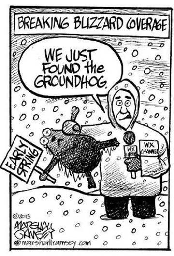 We Found the Groundhog