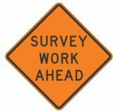 survey sign
