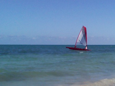 Trimaran, Beating Against the Wind