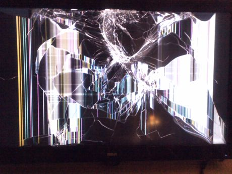 Fractal Experiment Undertaken by RCA's TV Stand, Table, and Floor