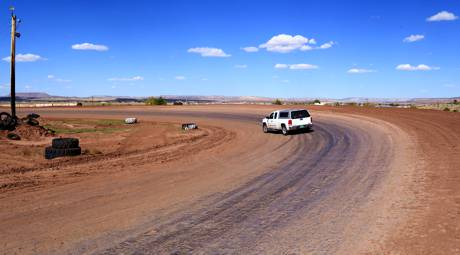 Racing in the Dirt at Uranium Capitol Speedway