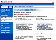 USPS Address Management