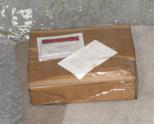 Air Mail Package in the Baggage Compartment