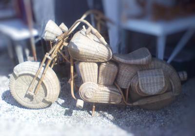 wicker bike